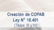 Ley 18.401 - Creación COPAB