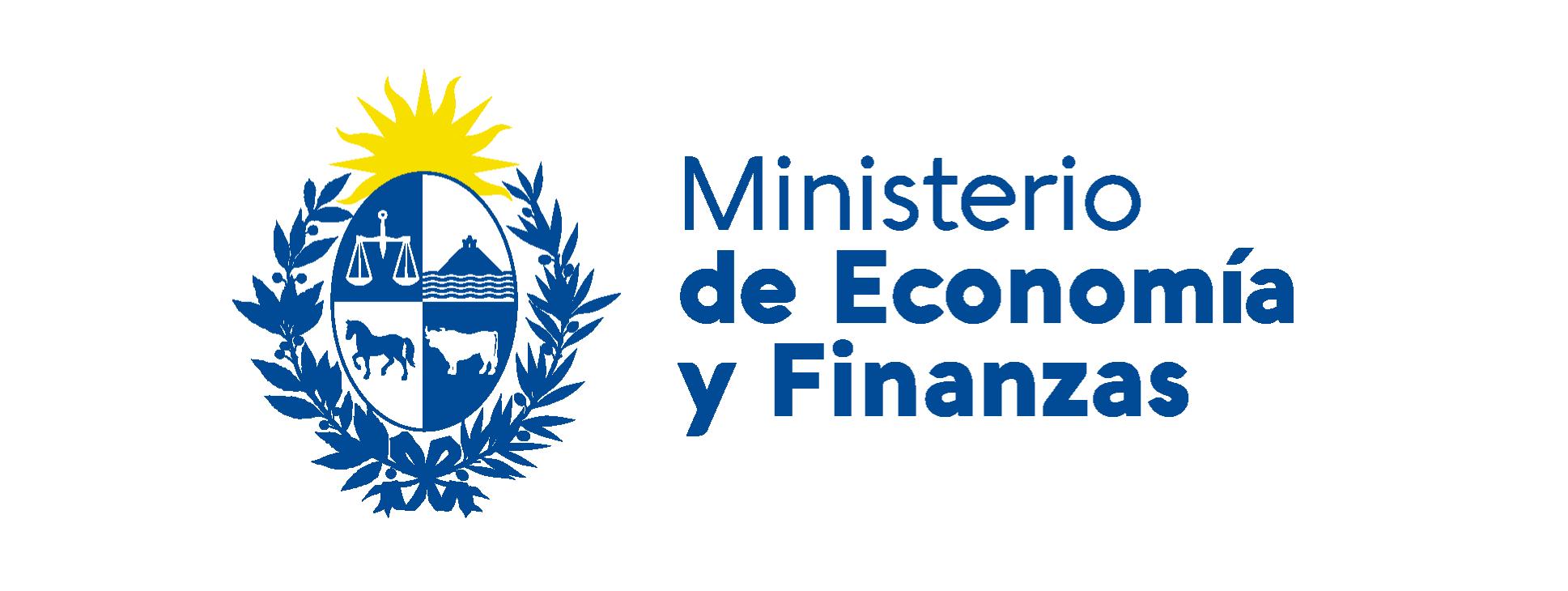 Banner con logo del Ministerio de Economía y Finanzas.