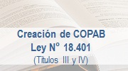 Ley 18.401 - Creaci�n COPAB